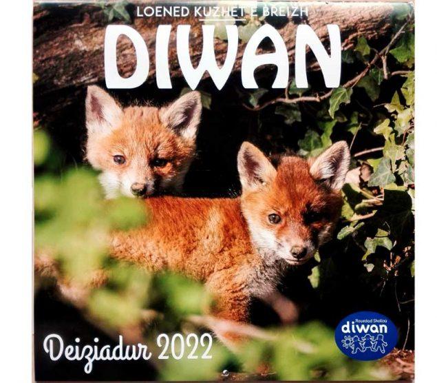 deiziadur calendrier Diwan 2022